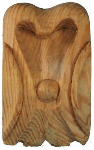 Centrepiece Furniture Onlay Applique Bracket, hand carved in pine wood - PN689