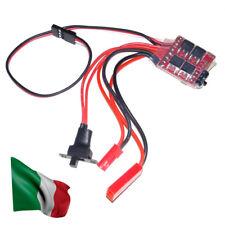 RC ESC 20A Brush Motor Speed Controller w/ Brake for Rc