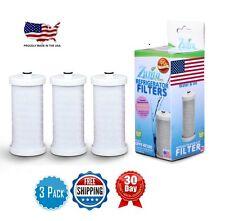 (3pk) Zuma Refrigerator Water Filter For Frigidaire NGRG-100/WF1CB/WFCB