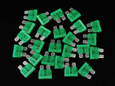 25 Pack 30 Amp ATC ATO Blade Fuse Auto Car Boat Marine Truck Motorcycle 30A