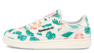 Reebok Club C 85 Beach Floral Print Sneakers Shoes For Women Size 10.5
