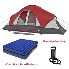 Ozark Trail 8 Person Camping Tent Instant Family Outdoor Cabin Room Easy Setup