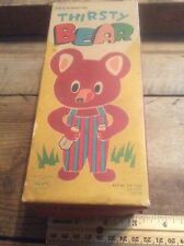 Alps Japan , Mechanical Thirsty Bear, In Original Box In Working Condition