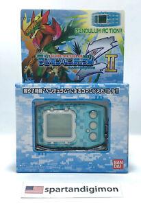 Digimon Pendulum Z II Ver. Digital Monster Wind Guardians Blue Color 2021 USA