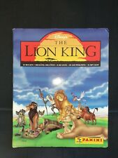 Panini Disney The Lion King 1995 Trading card album COMPLETE  with cards.