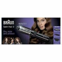 Braun Satin Hair 3 AS330 Cepillo de pelo moldeador 2 Temperaturas 3 Accesorios
