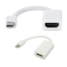 Cable adaptador clavija mini display port HDMI apple portatil macbook 23cm