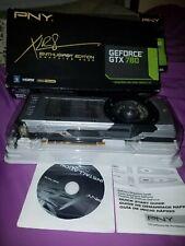 Nvidia GeForce GTX 780 3GB GDDR5, PCI Express Graphics Card.
