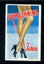 Denmark Reklamemarken Cinderella Poster stamp Women's Nylon Hose Stockings