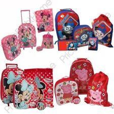 Set di valigie rosso