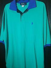 Ralph Lauren Polo XXL Teal/Blue