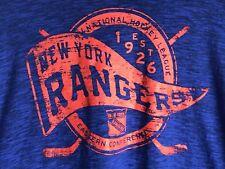 NEW NHL NY New York Rangers T Shirt Majestic Hockey 2xl 2xg classic msrp $32