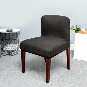 Polar Fleece Soft Chair Cover Extra Low Back Chair Cover Home Textile Products
