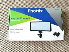 Phottix Nuada P Softlight Bi-Color On-Camera LED Panel VLED DSLR video