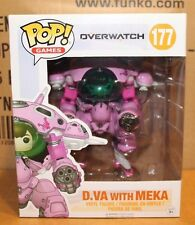 Funko POP Overwatch D.Va with Meka!!! In Hand & Ready to Ship!!!