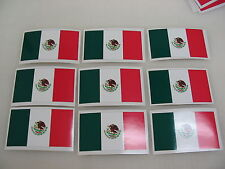 8 MEXICO FLAG Sticker Decal LOT 4 boat car Window Truck suv Wholesale MEXICAN