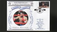 PERNELL WHITAKER WELTERWEIGHT WORLD CHAMPION BOXING COV