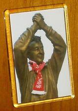 Brian Clough statue Nottingham Forest football fridge magnet
