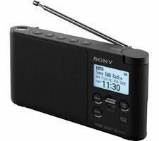 SONY XDR-S41D Portable DAB+/FM Radio - White BLUE BLACK CHOOSE