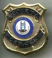 USA:Brustabzeichen:Security Guard Louisiana.65  mm. 1 Stück