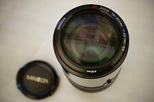 Minolta 75-300mm Large Beercan Zoom Lens Sony Alpha DSLR fit GREAT OPTICS