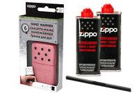 Zippo Handwärmer little Pocket size , pink + 2 x Zippo Benzin + MM MPL
