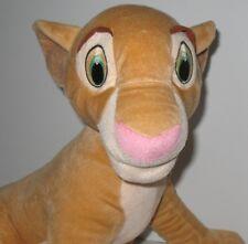 "The Lion King Plush Toy Stuffed Animal Nala Disney Hasbro 2002 Large 17"""