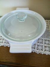 VINTAGE CUISINART CERAMIC BAKER WITH LID