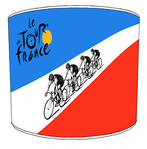 Cycling Tour DE France Lampshades Bicycle Racing Bikes Light Shades Lighting