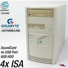 4x Isa Slot Pentium I 1 Gigabyte GA-586ATV Computer PC RS-232 Parallel USB Sound