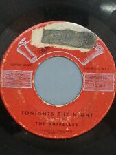 """THE SHIRELLES 45 RPM """"Tonight's the Night"""" & """"The Dance is Over"""" G- condition"""