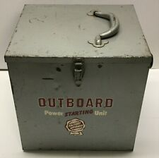 Very Cool Vintage Outboard Motor Power Starting Unit Metal Box-Heyer Equipment