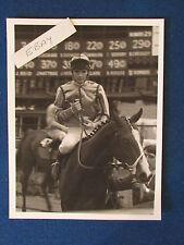 "Original Press Photo - 8.5""x6.5""- Walter Swinburn - 1980's?- A Boy Just Starting"