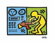 Untitled, 1989 (machine) by Keith Haring Art Print Pop Poster 11x14