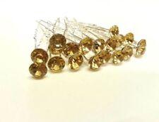 Accesorios de novia de color principal oro para el cabello