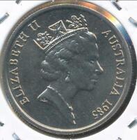 Australia, 1985 Five Cent, 5c, Elizabeth II - Gem Uncirculated