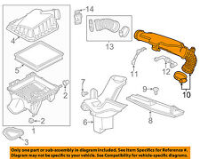Chevrolet GM OEM 13-15 Malibu Air Cleaner-to Intake Tube Duct Hose 13313804