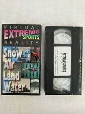 Virtual Reality Extreme Sports (VHS, 1996) Sampler video. Snow Air Land Water
