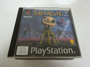 PS1...MEDIEVIL 2...BLACK LABEL Manual included FREE P&P