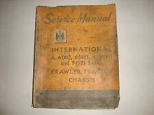 Ihc International Harvester Crawler Tractor Chassis Service Manual 6 661 9