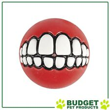 ROGZ Grinz Ball Red Large For Dogs 78mm