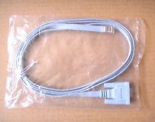 New Original Cisco Console Cable DB9 To RJ45 72-3383-01 CCNA CCNP CCIE VoIP Lab!