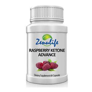 Raspberry Ketone Advance 100% Natural Fat Burner 60 Capsules Faster Weight Loss