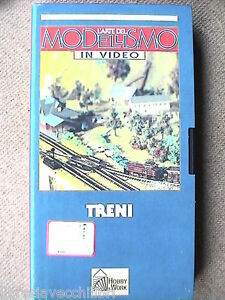 VHS TRENI costruire ferromodellismo Trenini elettrici MODELLISMO IN VIDEO Hobby