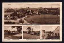 96360 AK Neuhausen bei Landshut 1931 Hauptstraße Pfarrkirche Pfarrhof Schule Han