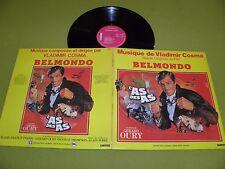 L'As Des As - Original Soundtrack - Vladimir Cosma / France LP NM / OST Belmondo