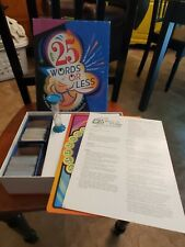 RARE! 25 Words or Less Board Game, 2005 Winning Moves Inc