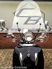 Italienisches Windschild  Roller Windabweiser Windschutz Retro NOVA Motorroller