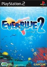 Used PS2 CAPCOM  EverBlue 2  SONY PLAYSTATION JAPAN IMPORT