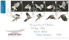 Great Britain 2003 Birds of Prey FDC